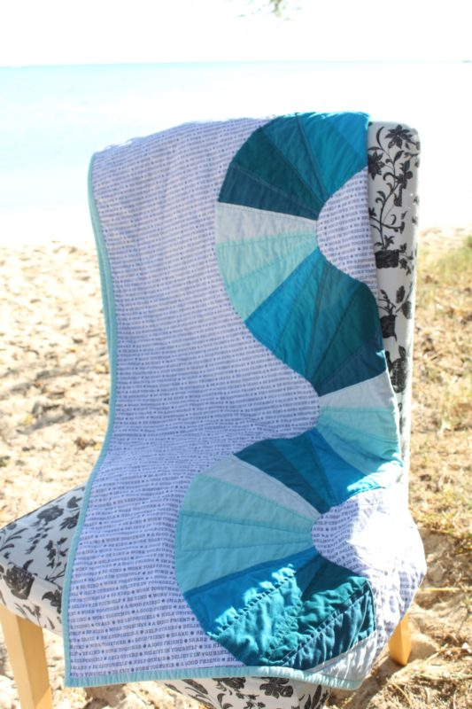 Blue Wave Quilt