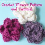 Free Crochet Rose Petal Pattern : Cute Easy Crochet Flower Tutorial