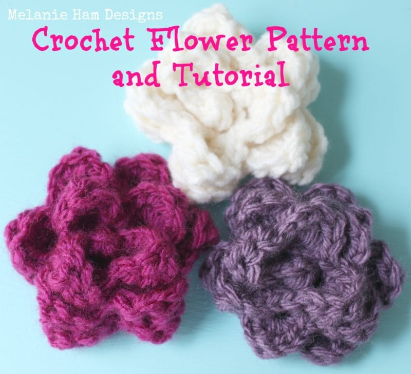 Free Crochet Rose Pattern Melanie Ham
