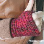 How to Crochet Fingerless Gloves Video