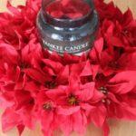DIY Easy Silk Poinsettia Wreath