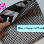 Basic Zippered Pouch Tutorial