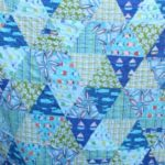 Custom Beachy Blue Twin Quilt