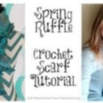 New Spring Ruffle Crochet Scarf Tutorial