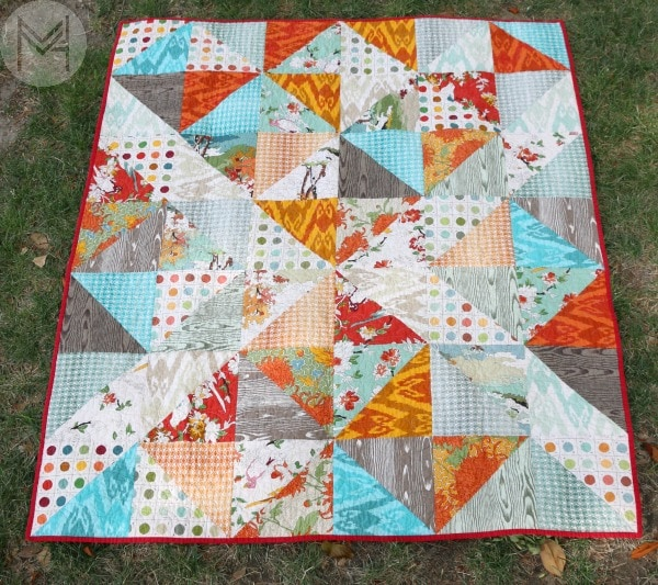 layer cake quilt tutorial