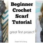 Beginner Crochet Scarf Pattern