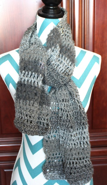 Beginner Crochet Scarf Slow Paced Video Tutorial
