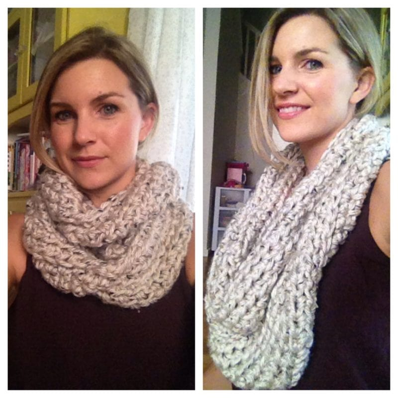 Crochet Infinity Scarf Video Tutorial