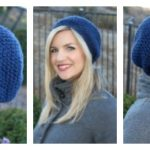 Free Slouchy Crochet Hat Pattern with Caron Simply Soft Yarn