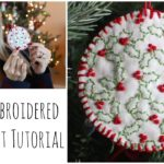 Hand Embroidered Ornament Tutorial