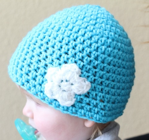 How To Make A Toddler Crochet Hat Pattern Free Tutorial