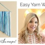 Easy Yarn Wall Art Tutorial