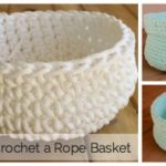 How to Crochet a Simple Basket