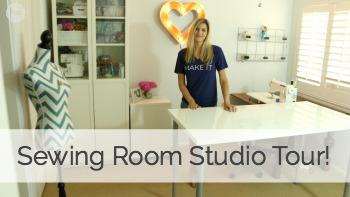 Sewing Room Studio Tour!