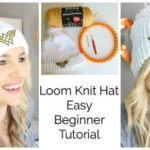 How to Loom Knit a Hat with a Hem – Beginner
