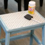 DIY Fabric Step Stool