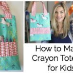 How to Sew a Crayon Tote Bag