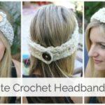 20 minute Crochet Headband Tutorial