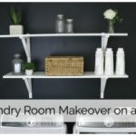 DIY Laundry Room Makeover on a Budget!