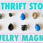 Thrift Store Jewelry Magnets!
