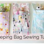 Toy Sleeping Bag Sewing Tutorial