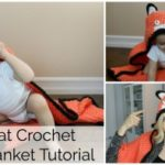 How to Crochet a Fox Blanket Tutorial