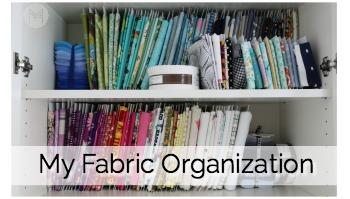 My Fabric Organization
