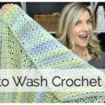 How to Wash Crocheted Items