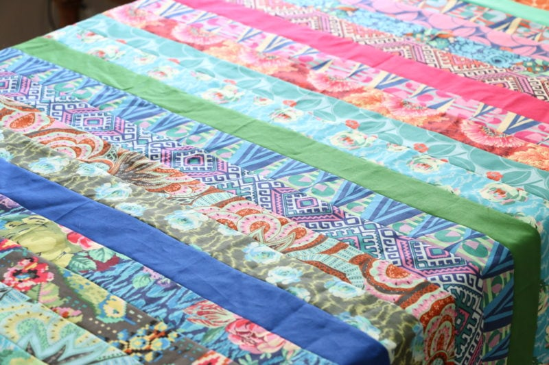 Quilt Patterns Made With Jelly Rolls : Easy Beginner Jelly Roll Quilt Tutorial