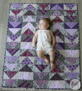 Finley's Flying Geese Quilt