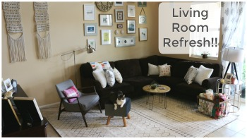 My Living Room DIY Refresh!