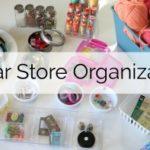 Dollar Store Craft Organization