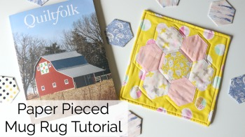 Hexagon Mini Quilt Tutorial