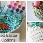 Crocheted Easter Baskets