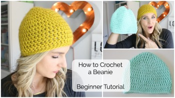 How to Crochet a Beanie – Beginner Tutorial