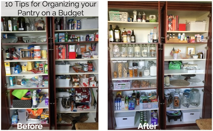 kitchen organization ideas budget organize your pantry on a budget 10 tips 5436