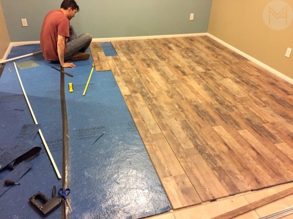 replacing floors with laminate