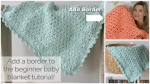 how to crochet a border