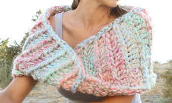 The Aloha Ridge Beginner Crochet Scarf