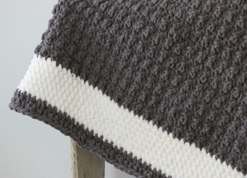 blanket yarn border