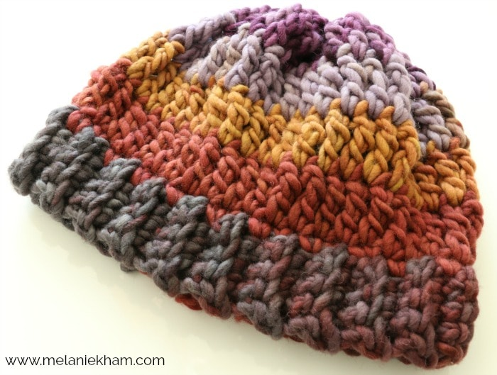 Easy Slouchy Crochet Beanie Tutorial With Bulky Yarn And Great For