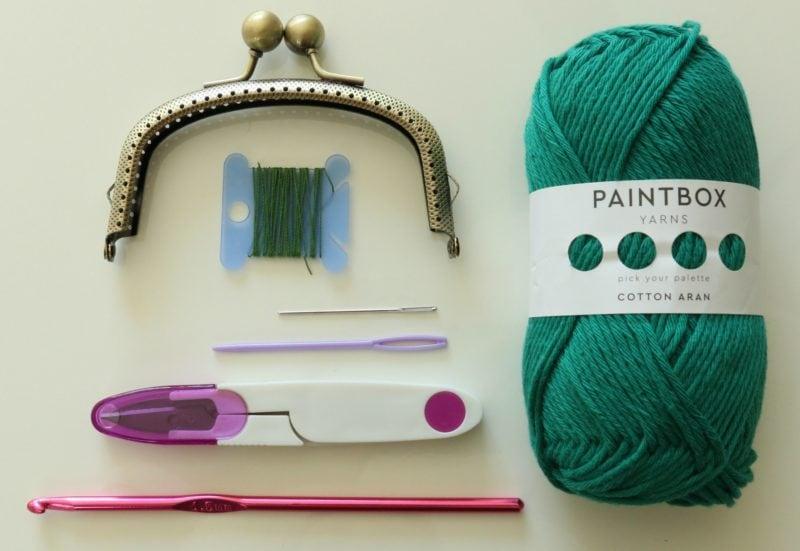 crochet coin purse kit