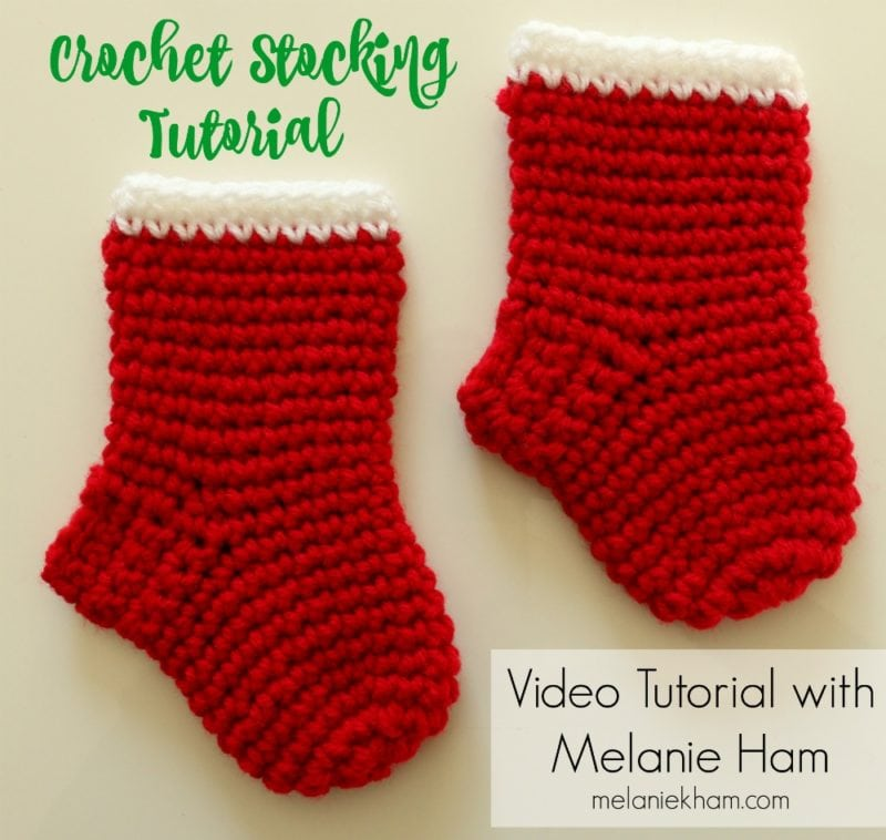Crochet Christmas Stocking Tutorial With Free Written Instructions