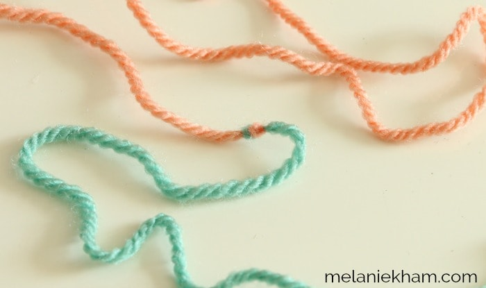 The magic knot yarn