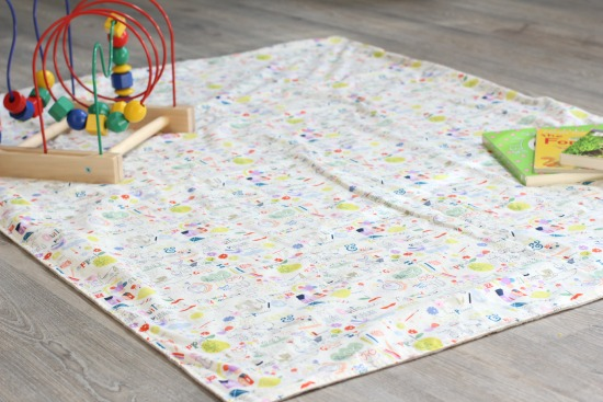 sew easy baby blanket