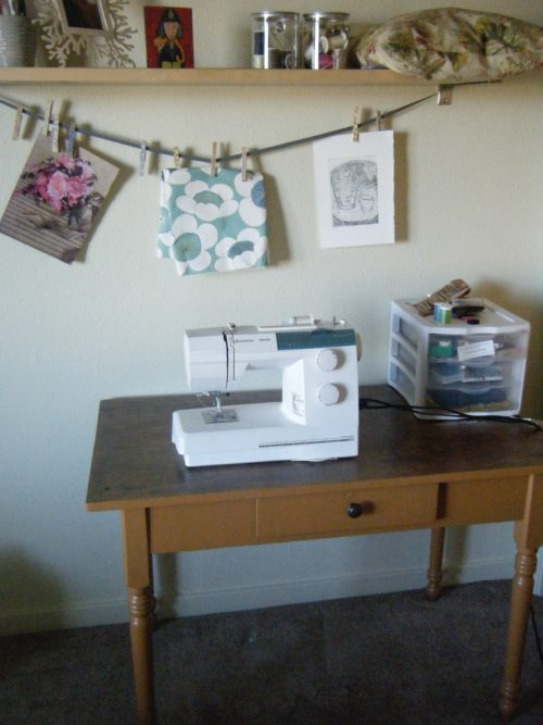 old sewing room