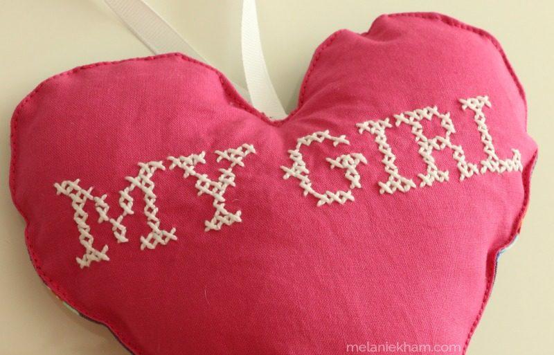 cross stitch on fabric