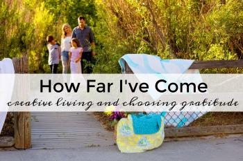 creative living and choosing gratitude