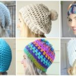 Beginner Crochet Beanie Round Up