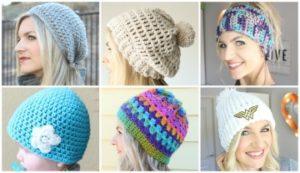 beginner crochet beanie